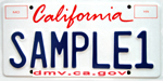 Environmental Personalized License Plate