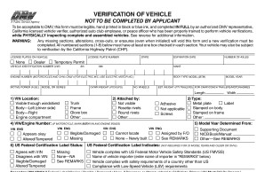 Dmv Release Of Liability >> VIN Verification San Diego, Vehicle Registration - The Tag ...