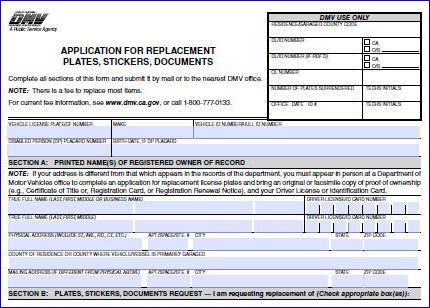 Replace Lost Registration Card - DMV SAN DIEGO - THE TAG SHOP