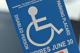 Handicap Parking Placard